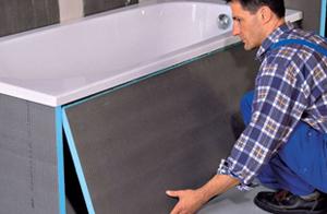Как правильно сделать ремонт в ванной пластиковыми панелями 585